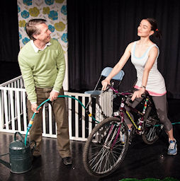 Cycle at Maltings Arts Theatre, St. Albens, Herts, England